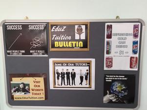 EduZ Bulletin & Snacks Corner
