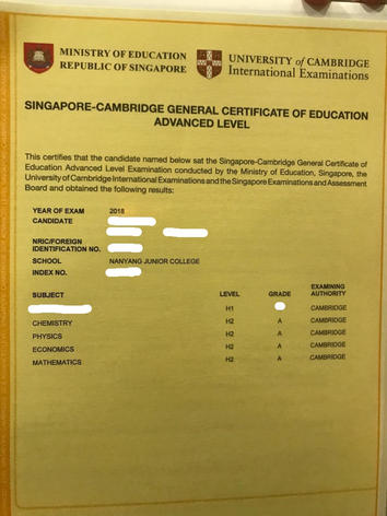 A Level Result (2)