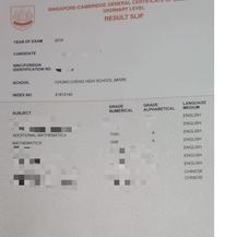 O Level Result (1)