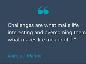Make challenges meaningful.