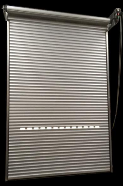 grey roller doors