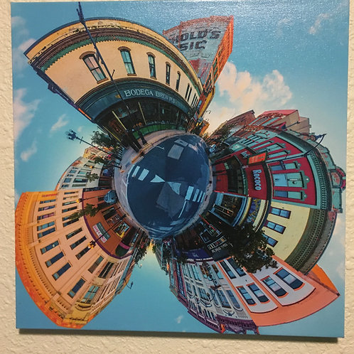 Canvas La Crosse Circle 1