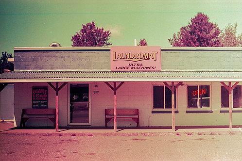 Print Laundromat. LomoChrome Purple