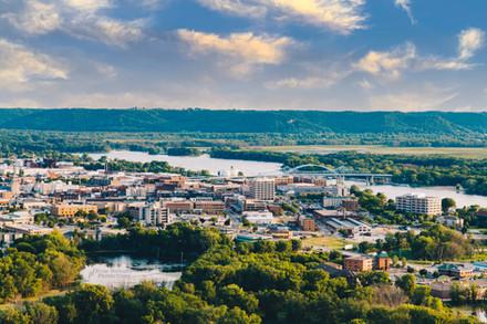 La Crosse, Wisconsin Aerial 2021