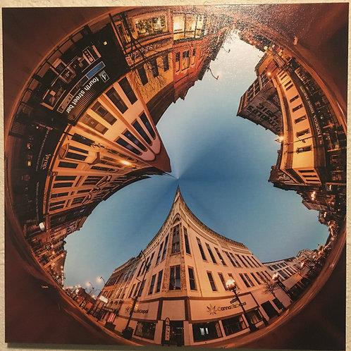 """16x16"""" Print La Crosse Circle 2"""