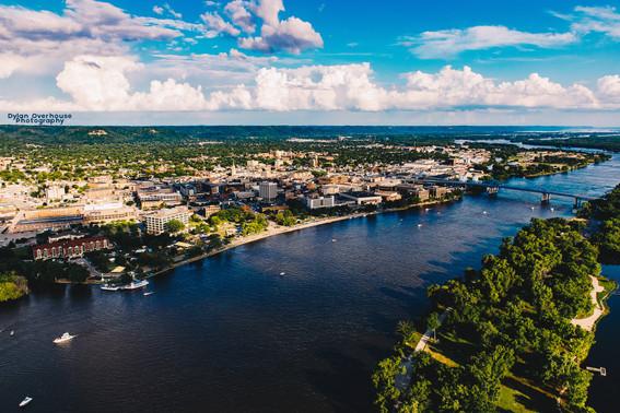 La Crosse, Wisconsin Aerial