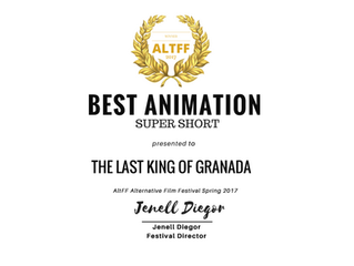 Winner Best  Animation! (Supershort category)