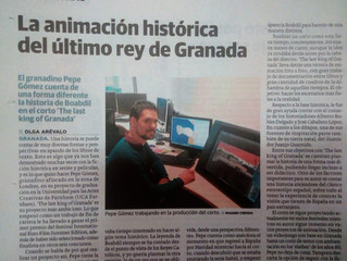 Look at me, I´m in the newspaper!
