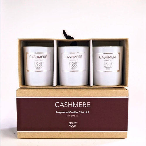 Fragrance Candles set of 3 From EIGHT MOOD