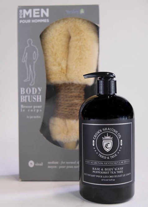 BODY WASH BOX FOR MEN
