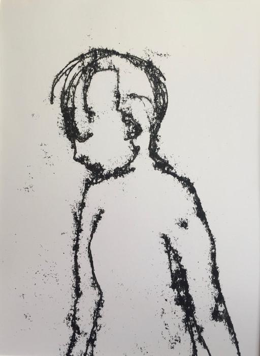Boy Monoprint
