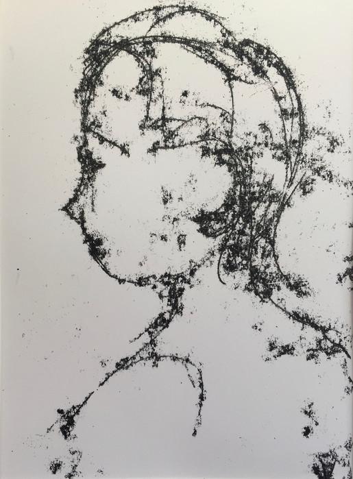 Boy (head) Monoprint