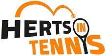 Herts in Tennis Logo