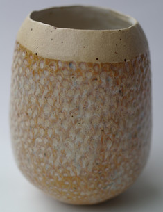Egg shaped fish scale bowl