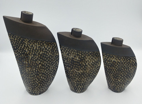 Fish Scale Bud Vases (various sizes)