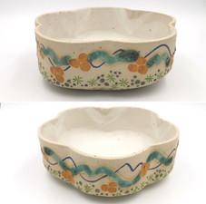 Large Asymmetric Bowl