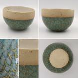Fleckstone with kiwi glaze