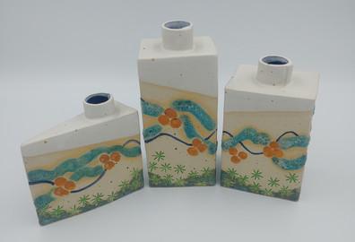 Cornish Design Bud Vases