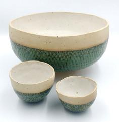 Fish Scale Design Bowls