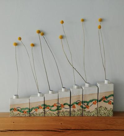 Multi Bud Vase Structure - Tin Coast