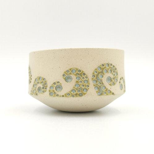 Pair of small stoneware bowls