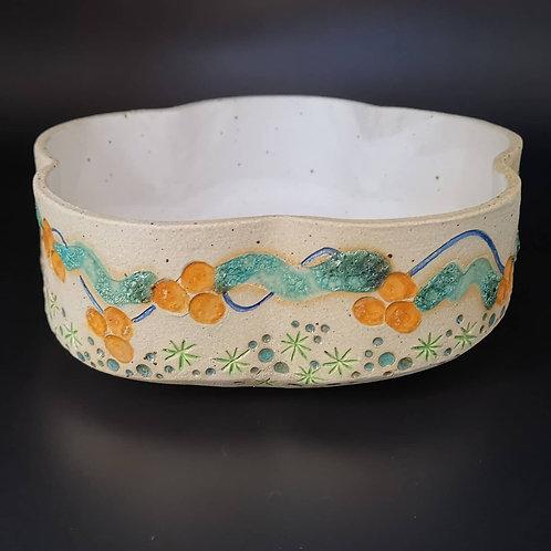 Large asymmetrical dish - Cornish Design Range