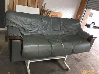 3人掛けソファー張り替え
