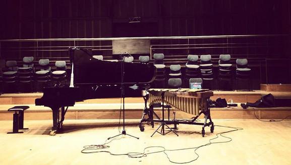 DANCE Recording Percussion & Piano
