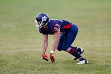 Football Player Running
