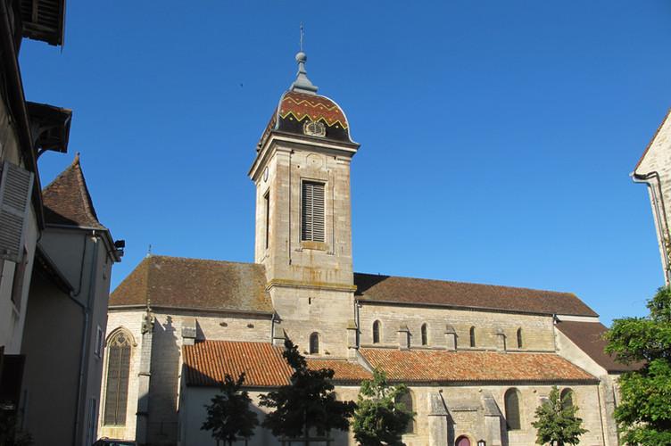 Vue depuis la place Saint-Hilaire