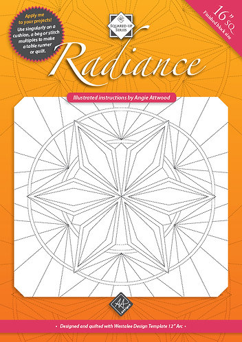 Radiance - Digital Quilting Instructions