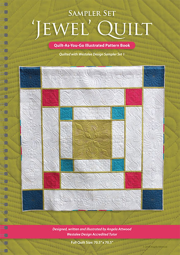Jewel Quilt Pattern Book