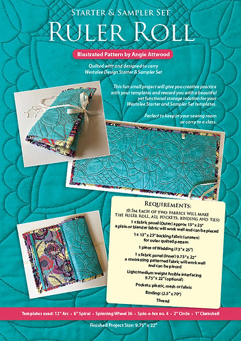 Quilted Ruler Roll Instruction Booklet