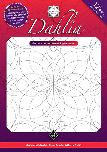 Dahlia - Quilting Instructions