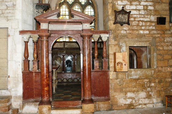 La chapelle d'Andelot