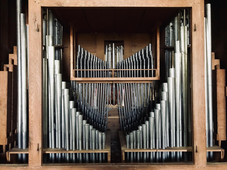 La tuyauterie du grand-orgue