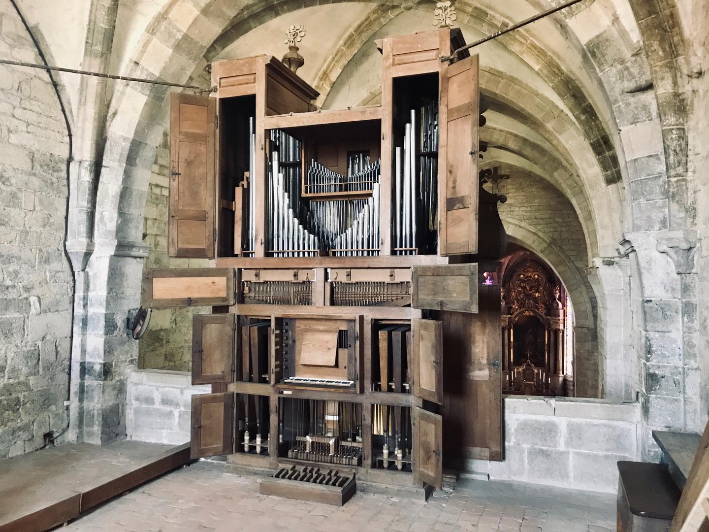 L'orgue ouvert