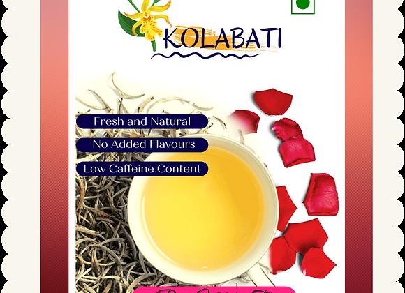 Rose - White Tea I 50 Gms I Loose Tea Leaves