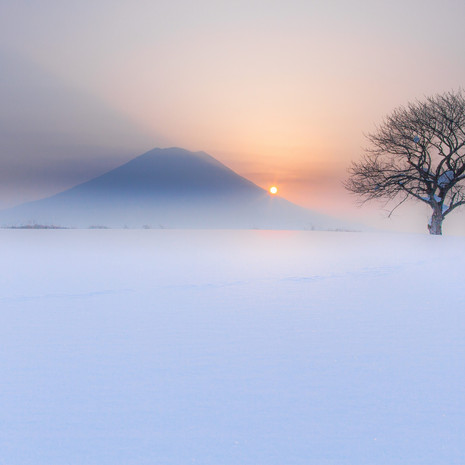 Ezo Fuji,Hokkaido