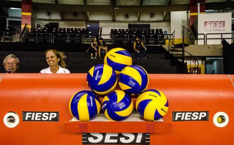 As bolas do jogo