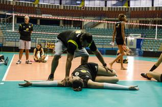 Treino do time feminino de São Bernardo
