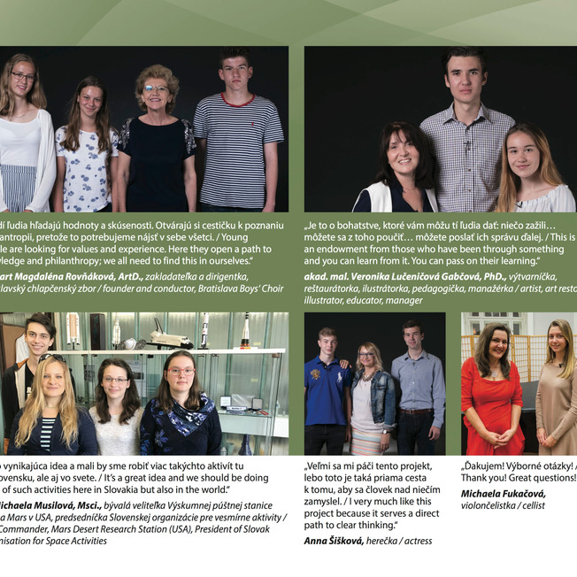 TIME FOR WORDS Impact Booklet - The Minich-Mlcousek Family Philanthropy