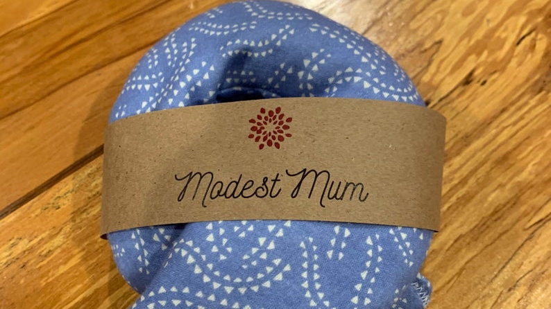 Modest Mum Organic Blissful Breast Compress Set