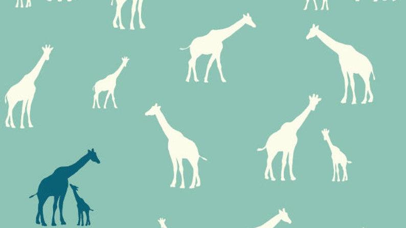 Modest Mum Organic Nursing Pillow in Giraffe Fam Pool