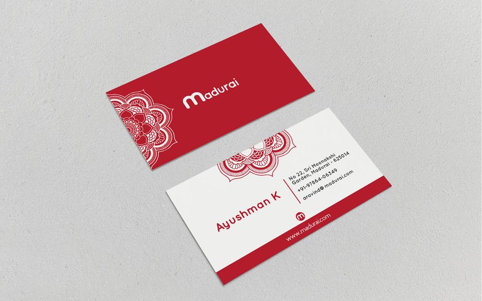 MAdurai business card