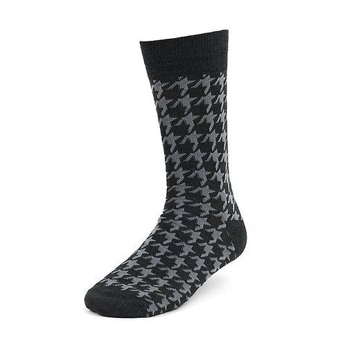 Gray Pattern Socks