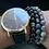 Thumbnail: Black and Gray Bracelet Set (3pcs)