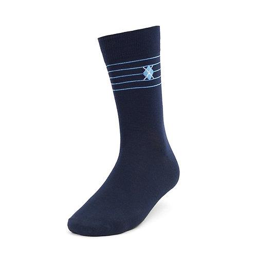 Blue Flare Socks