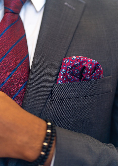 Gratitude Pocket Square