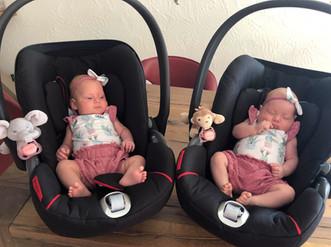 Body & Romper Twin Girls